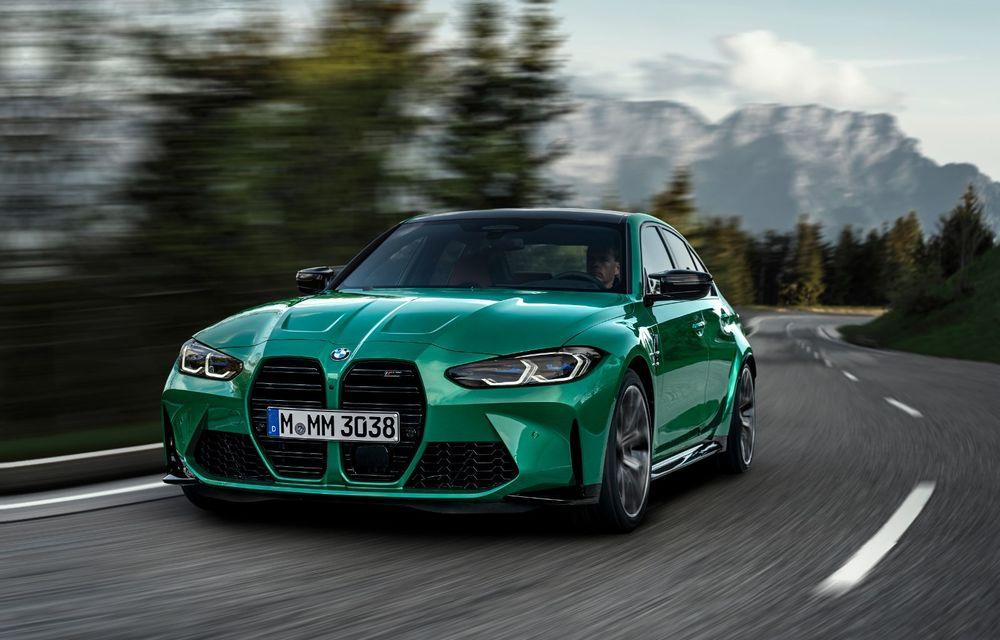 BMW a prezentat noile M3 și M4 Coupe: versiune de bază cu 480 CP și cutie manuală, și variantă Competition cu 510 CP și tracțiune integrală - Poza 10