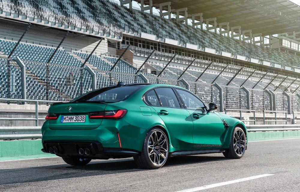 BMW a prezentat noile M3 și M4 Coupe: versiune de bază cu 480 CP și cutie manuală, și variantă Competition cu 510 CP și tracțiune integrală - Poza 144