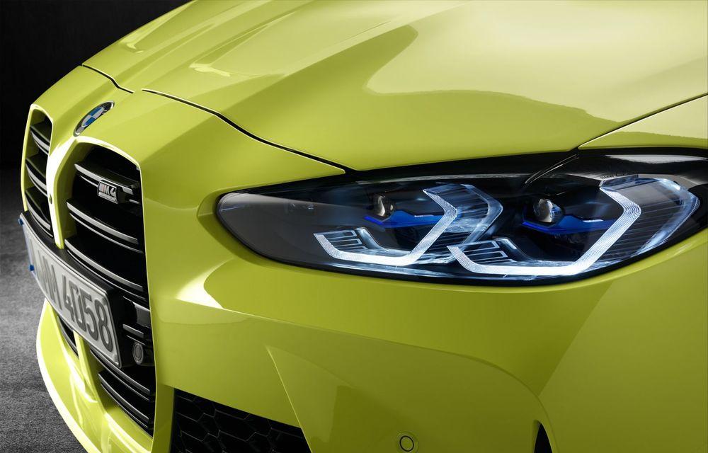 BMW a prezentat noile M3 și M4 Coupe: versiune de bază cu 480 CP și cutie manuală, și variantă Competition cu 510 CP și tracțiune integrală - Poza 188