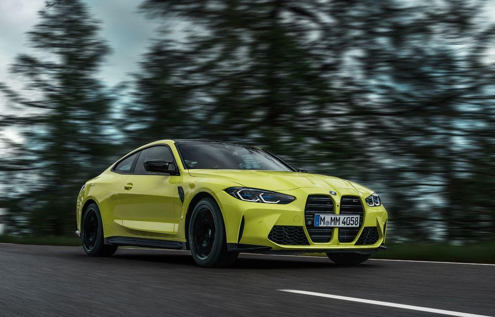 BMW a prezentat noile M3 și M4 Coupe: versiune de bază cu 480 CP și cutie manuală, și variantă Competition cu 510 CP și tracțiune integrală - Poza 34
