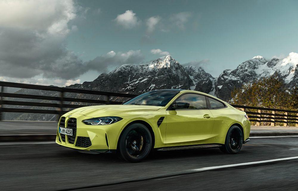 BMW a prezentat noile M3 și M4 Coupe: versiune de bază cu 480 CP și cutie manuală, și variantă Competition cu 510 CP și tracțiune integrală - Poza 30