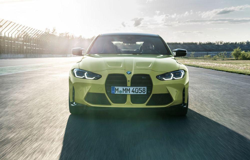 BMW a prezentat noile M3 și M4 Coupe: versiune de bază cu 480 CP și cutie manuală, și variantă Competition cu 510 CP și tracțiune integrală - Poza 62