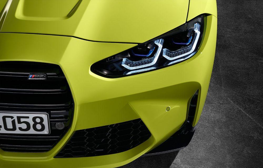 BMW a prezentat noile M3 și M4 Coupe: versiune de bază cu 480 CP și cutie manuală, și variantă Competition cu 510 CP și tracțiune integrală - Poza 190