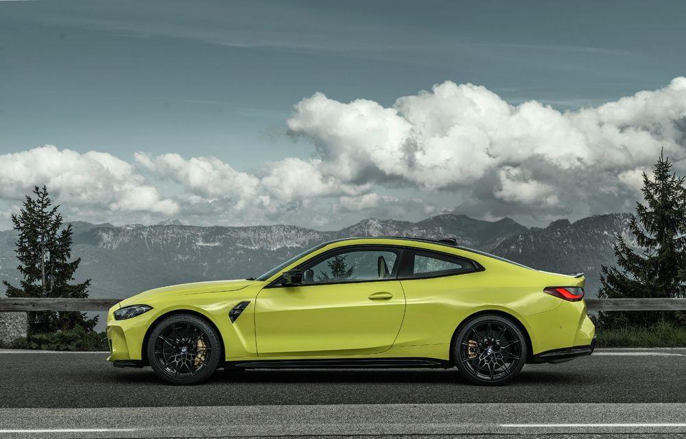BMW a prezentat noile M3 și M4 Coupe: versiune de bază cu 480 CP și cutie manuală, și variantă Competition cu 510 CP și tracțiune integrală - Poza 38