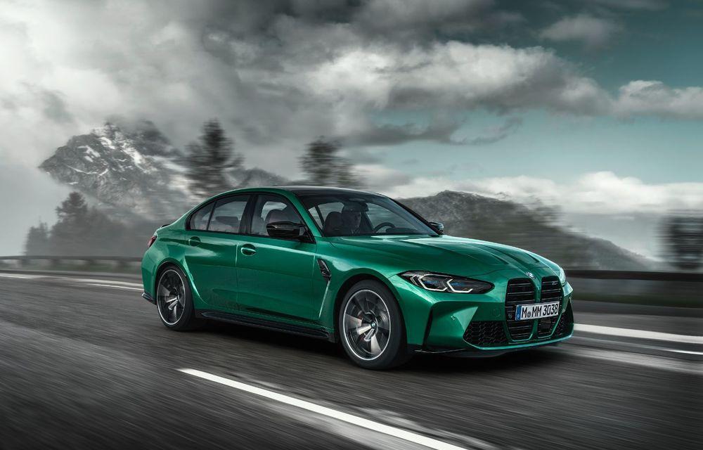 BMW a prezentat noile M3 și M4 Coupe: versiune de bază cu 480 CP și cutie manuală, și variantă Competition cu 510 CP și tracțiune integrală - Poza 14