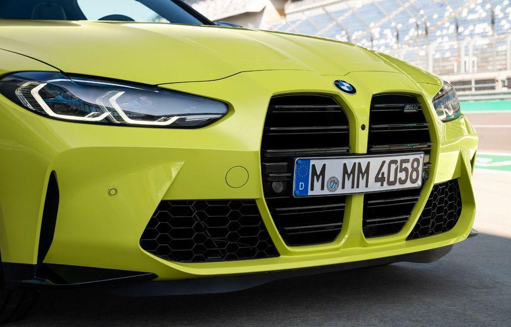 BMW a prezentat noile M3 și M4 Coupe: versiune de bază cu 480 CP și cutie manuală, și variantă Competition cu 510 CP și tracțiune integrală - Poza 90