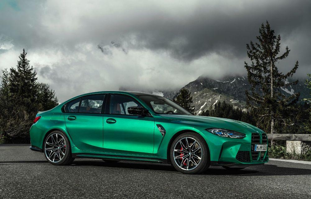 BMW a prezentat noile M3 și M4 Coupe: versiune de bază cu 480 CP și cutie manuală, și variantă Competition cu 510 CP și tracțiune integrală - Poza 24