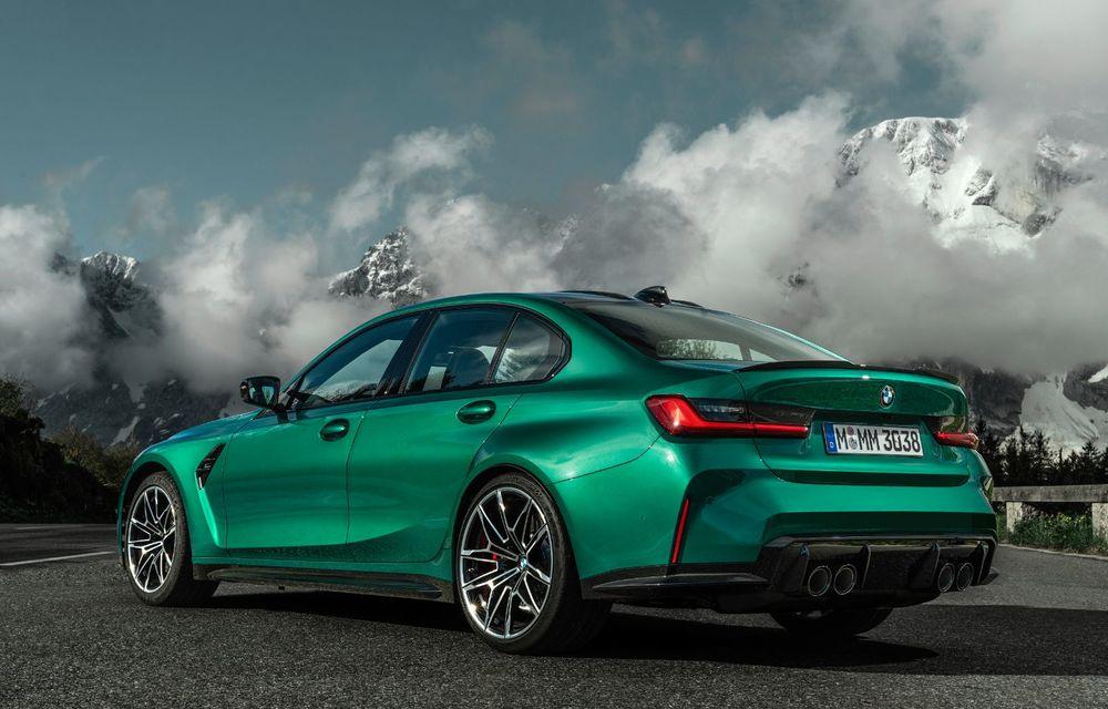 BMW a prezentat noile M3 și M4 Coupe: versiune de bază cu 480 CP și cutie manuală, și variantă Competition cu 510 CP și tracțiune integrală - Poza 22