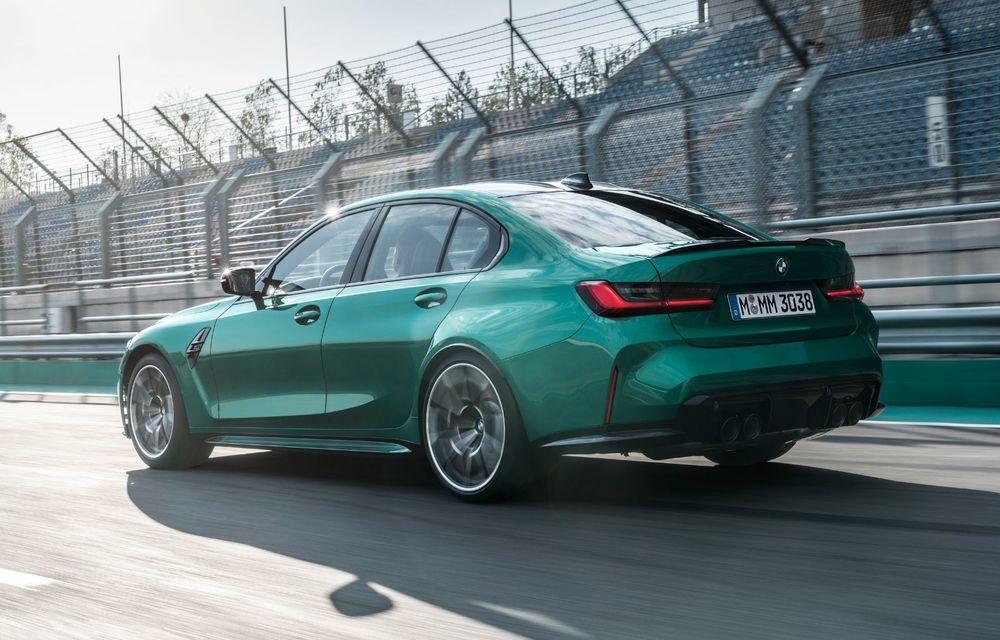 BMW a prezentat noile M3 și M4 Coupe: versiune de bază cu 480 CP și cutie manuală, și variantă Competition cu 510 CP și tracțiune integrală - Poza 130