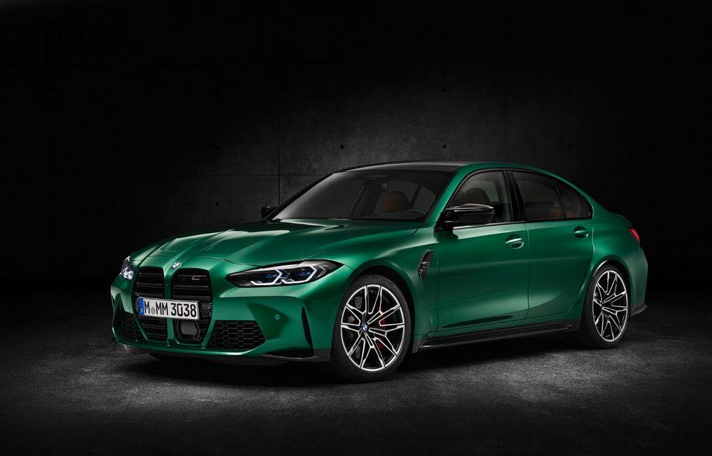BMW a prezentat noile M3 și M4 Coupe: versiune de bază cu 480 CP și cutie manuală, și variantă Competition cu 510 CP și tracțiune integrală - Poza 158
