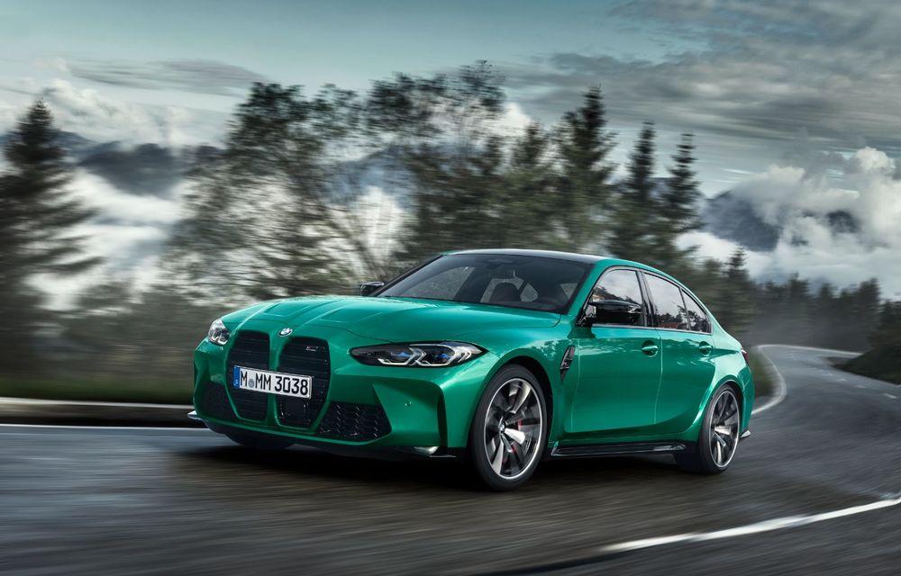BMW a prezentat noile M3 și M4 Coupe: versiune de bază cu 480 CP și cutie manuală, și variantă Competition cu 510 CP și tracțiune integrală - Poza 6