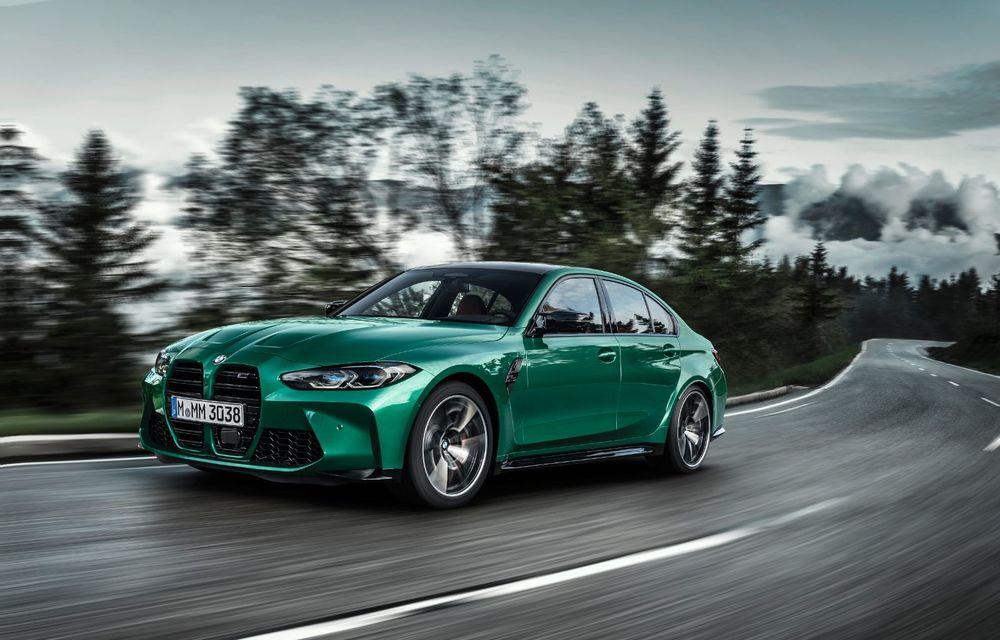 BMW a prezentat noile M3 și M4 Coupe: versiune de bază cu 480 CP și cutie manuală, și variantă Competition cu 510 CP și tracțiune integrală - Poza 13