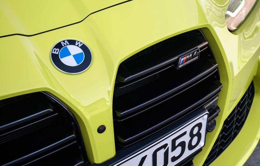 BMW a prezentat noile M3 și M4 Coupe: versiune de bază cu 480 CP și cutie manuală, și variantă Competition cu 510 CP și tracțiune integrală - Poza 71