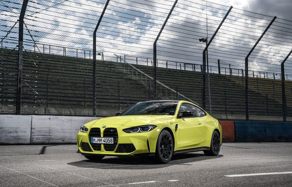 BMW a prezentat noile M3 și M4 Coupe: versiune de bază cu 480 CP și cutie manuală, și variantă Competition cu 510 CP și tracțiune integrală - Poza 77
