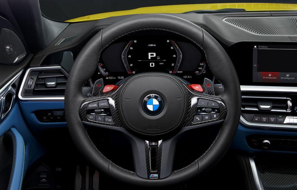 BMW a prezentat noile M3 și M4 Coupe: versiune de bază cu 480 CP și cutie manuală, și variantă Competition cu 510 CP și tracțiune integrală - Poza 200
