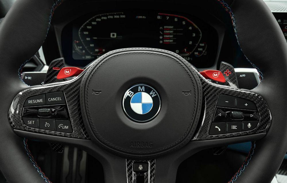 BMW a prezentat noile M3 și M4 Coupe: versiune de bază cu 480 CP și cutie manuală, și variantă Competition cu 510 CP și tracțiune integrală - Poza 101