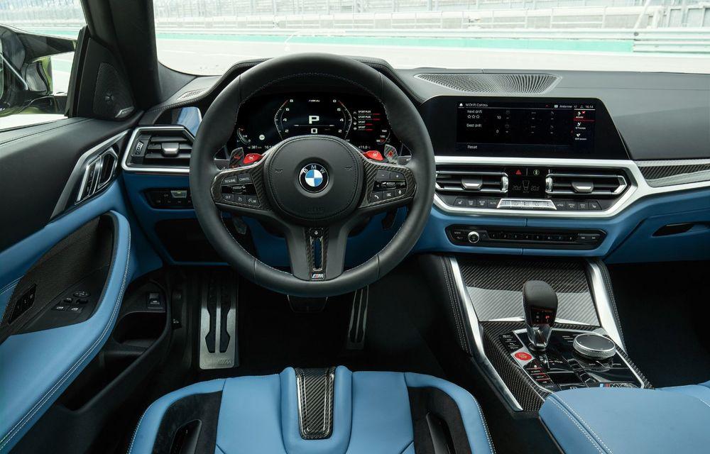 BMW a prezentat noile M3 și M4 Coupe: versiune de bază cu 480 CP și cutie manuală, și variantă Competition cu 510 CP și tracțiune integrală - Poza 92