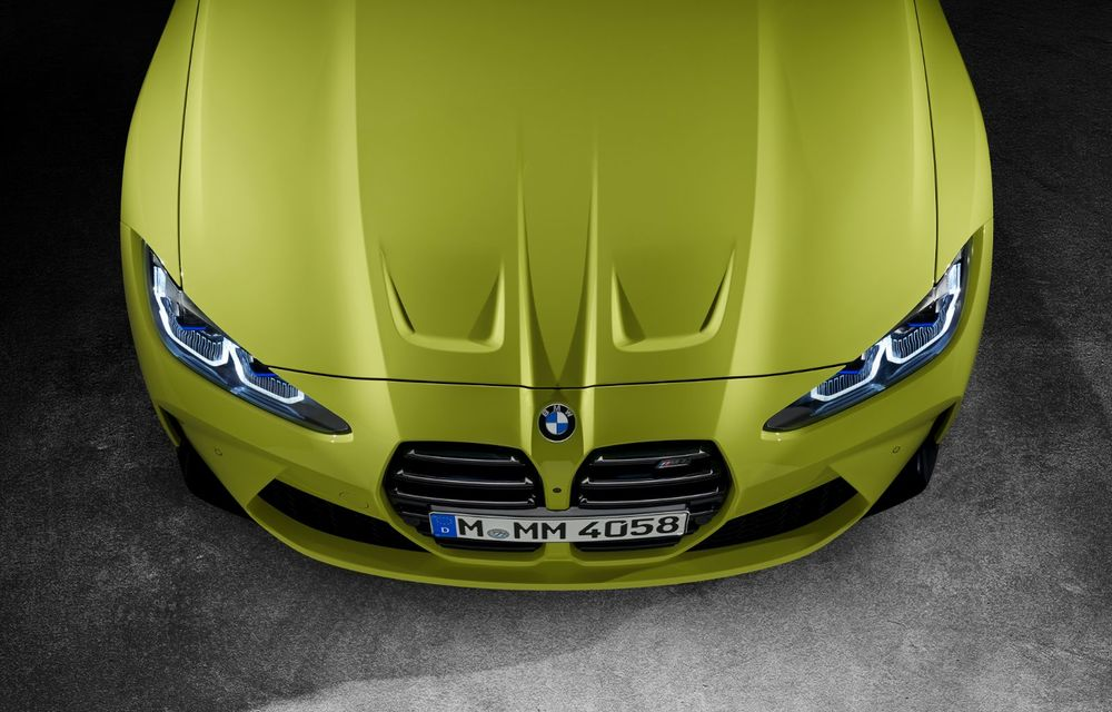 BMW a prezentat noile M3 și M4 Coupe: versiune de bază cu 480 CP și cutie manuală, și variantă Competition cu 510 CP și tracțiune integrală - Poza 191