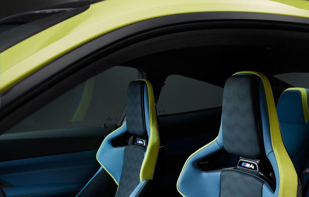 BMW a prezentat noile M3 și M4 Coupe: versiune de bază cu 480 CP și cutie manuală, și variantă Competition cu 510 CP și tracțiune integrală - Poza 201