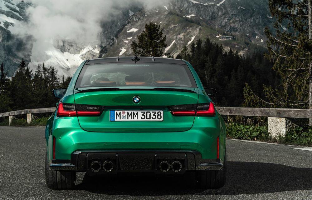 BMW a prezentat noile M3 și M4 Coupe: versiune de bază cu 480 CP și cutie manuală, și variantă Competition cu 510 CP și tracțiune integrală - Poza 26