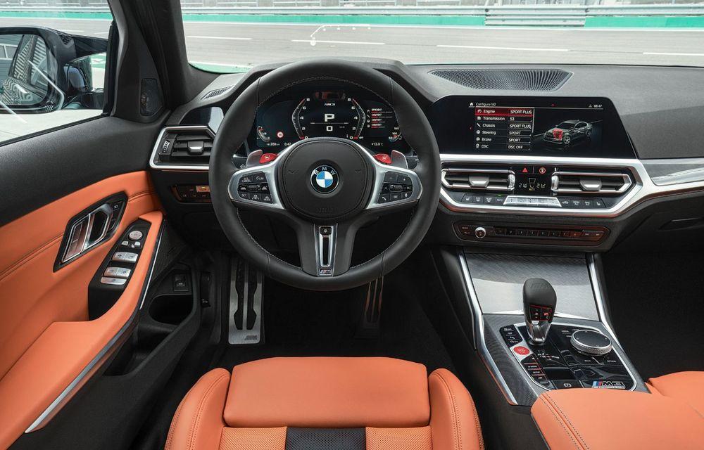 BMW a prezentat noile M3 și M4 Coupe: versiune de bază cu 480 CP și cutie manuală, și variantă Competition cu 510 CP și tracțiune integrală - Poza 44
