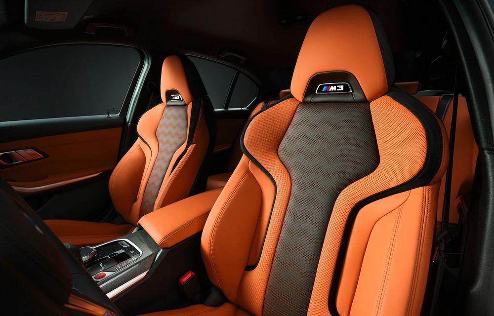 BMW a prezentat noile M3 și M4 Coupe: versiune de bază cu 480 CP și cutie manuală, și variantă Competition cu 510 CP și tracțiune integrală - Poza 175