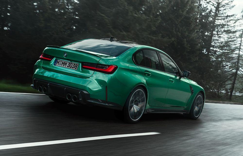 BMW a prezentat noile M3 și M4 Coupe: versiune de bază cu 480 CP și cutie manuală, și variantă Competition cu 510 CP și tracțiune integrală - Poza 17