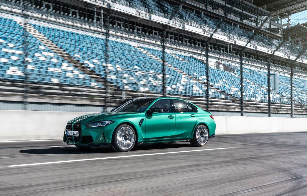 BMW a prezentat noile M3 și M4 Coupe: versiune de bază cu 480 CP și cutie manuală, și variantă Competition cu 510 CP și tracțiune integrală - Poza 99