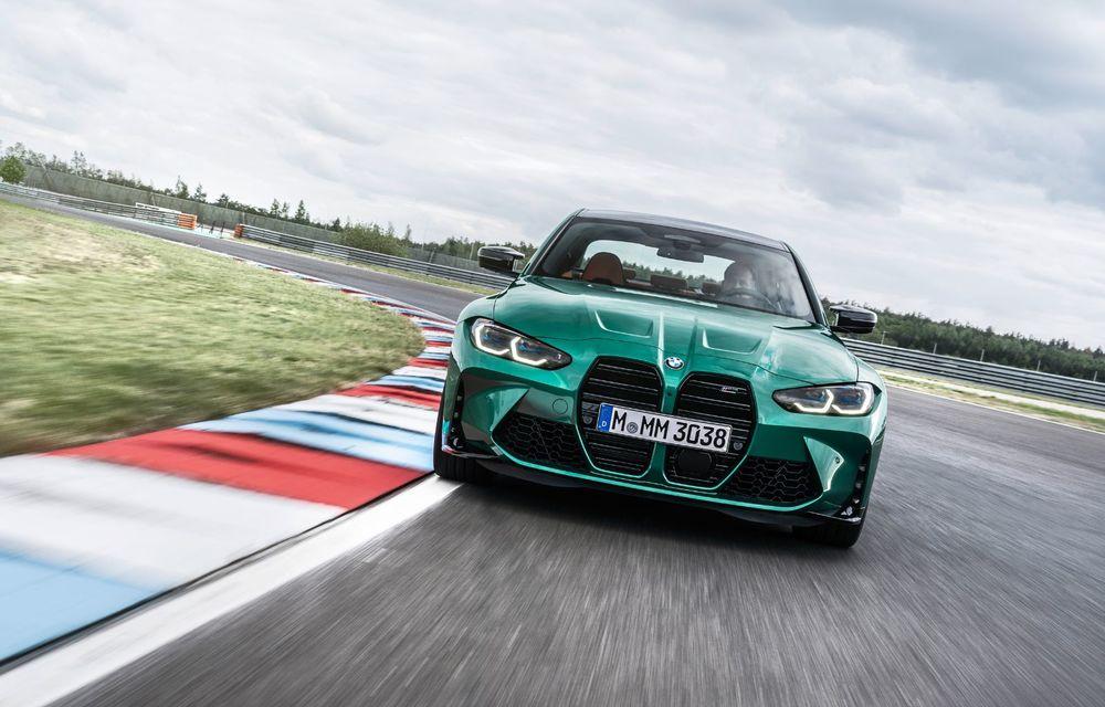 BMW a prezentat noile M3 și M4 Coupe: versiune de bază cu 480 CP și cutie manuală, și variantă Competition cu 510 CP și tracțiune integrală - Poza 115