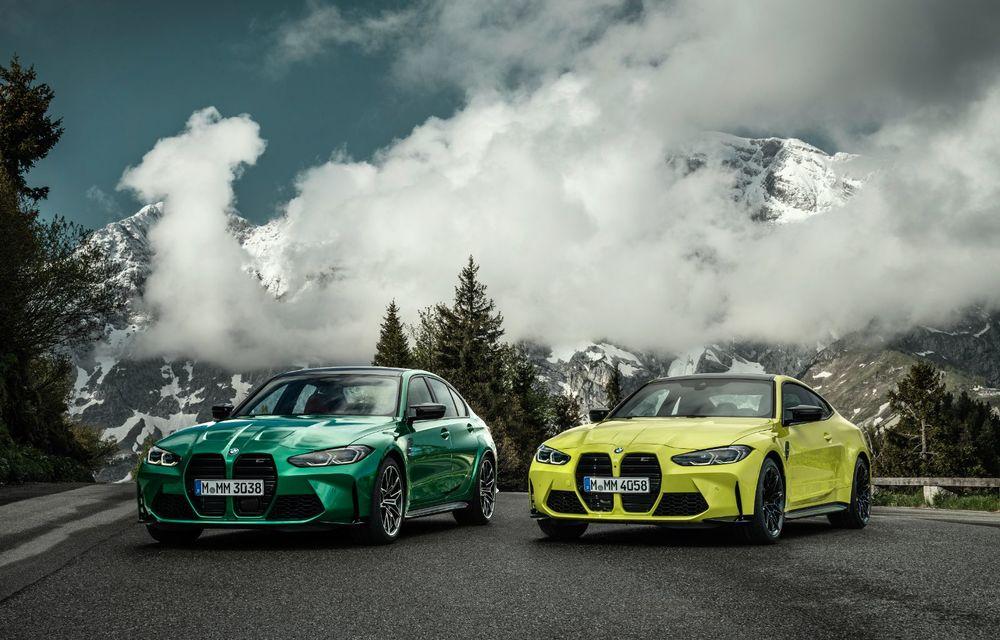 BMW a prezentat noile M3 și M4 Coupe: versiune de bază cu 480 CP și cutie manuală, și variantă Competition cu 510 CP și tracțiune integrală - Poza 5
