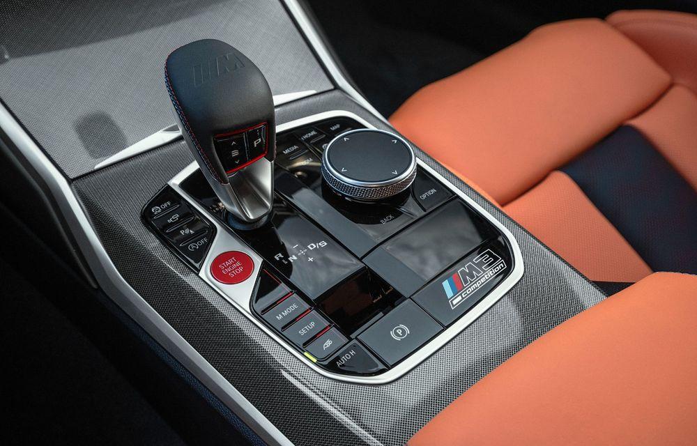 BMW a prezentat noile M3 și M4 Coupe: versiune de bază cu 480 CP și cutie manuală, și variantă Competition cu 510 CP și tracțiune integrală - Poza 48