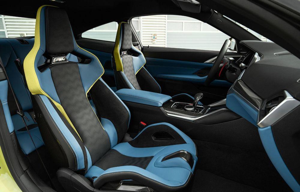 BMW a prezentat noile M3 și M4 Coupe: versiune de bază cu 480 CP și cutie manuală, și variantă Competition cu 510 CP și tracțiune integrală - Poza 96