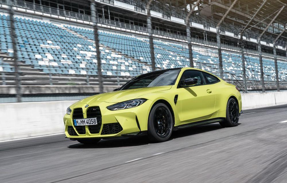 BMW a prezentat noile M3 și M4 Coupe: versiune de bază cu 480 CP și cutie manuală, și variantă Competition cu 510 CP și tracțiune integrală - Poza 56