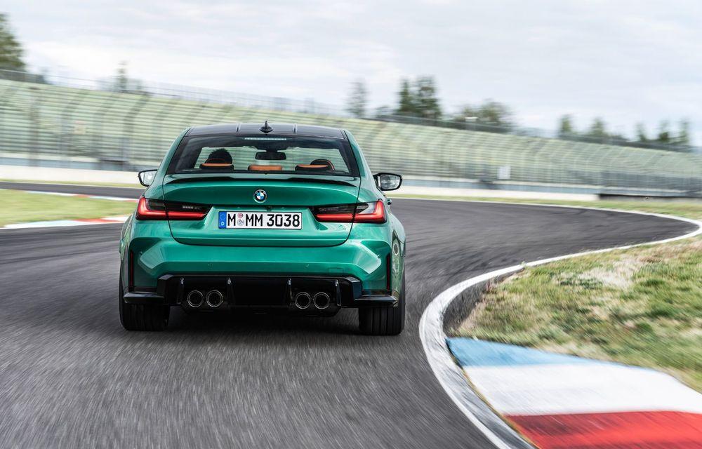BMW a prezentat noile M3 și M4 Coupe: versiune de bază cu 480 CP și cutie manuală, și variantă Competition cu 510 CP și tracțiune integrală - Poza 125