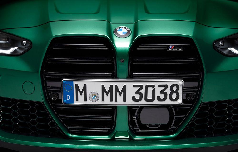 BMW a prezentat noile M3 și M4 Coupe: versiune de bază cu 480 CP și cutie manuală, și variantă Competition cu 510 CP și tracțiune integrală - Poza 167