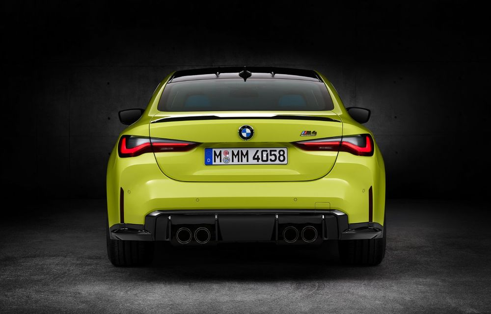 BMW a prezentat noile M3 și M4 Coupe: versiune de bază cu 480 CP și cutie manuală, și variantă Competition cu 510 CP și tracțiune integrală - Poza 197