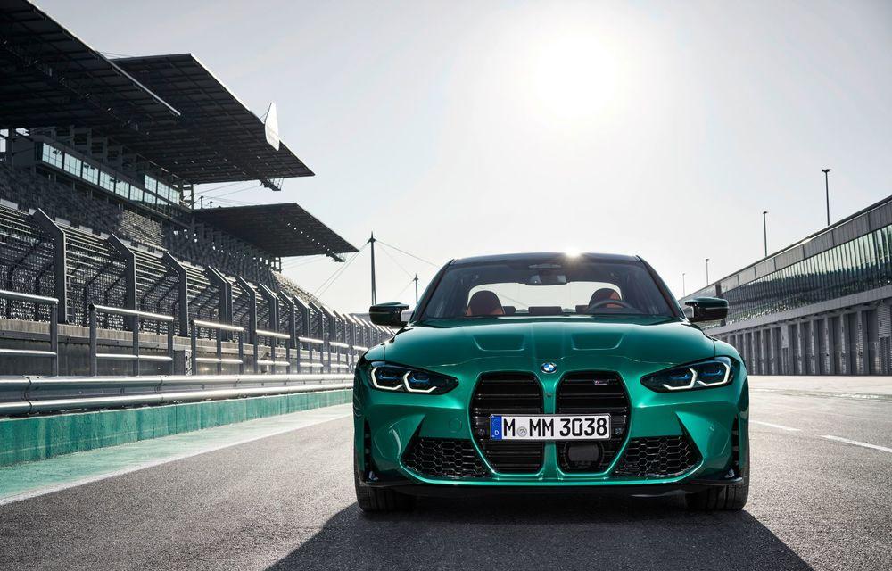 BMW a prezentat noile M3 și M4 Coupe: versiune de bază cu 480 CP și cutie manuală, și variantă Competition cu 510 CP și tracțiune integrală - Poza 135