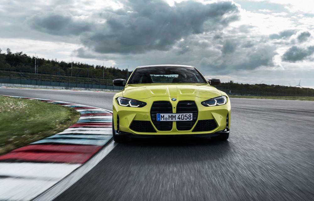 BMW a prezentat noile M3 și M4 Coupe: versiune de bază cu 480 CP și cutie manuală, și variantă Competition cu 510 CP și tracțiune integrală - Poza 61