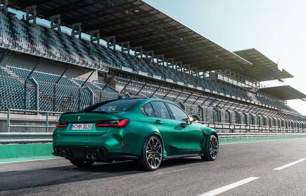 BMW a prezentat noile M3 și M4 Coupe: versiune de bază cu 480 CP și cutie manuală, și variantă Competition cu 510 CP și tracțiune integrală - Poza 143