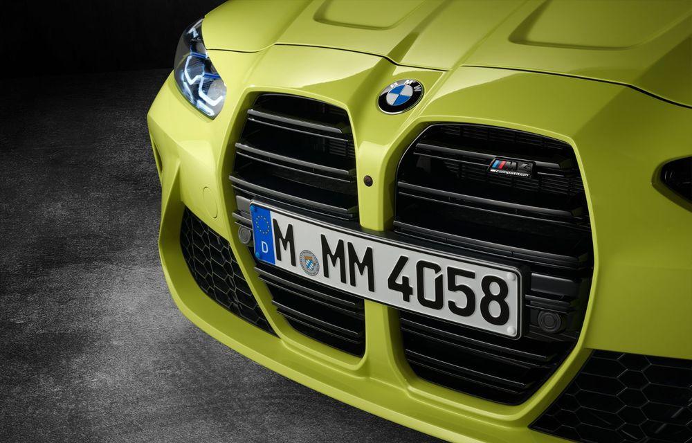 BMW a prezentat noile M3 și M4 Coupe: versiune de bază cu 480 CP și cutie manuală, și variantă Competition cu 510 CP și tracțiune integrală - Poza 187