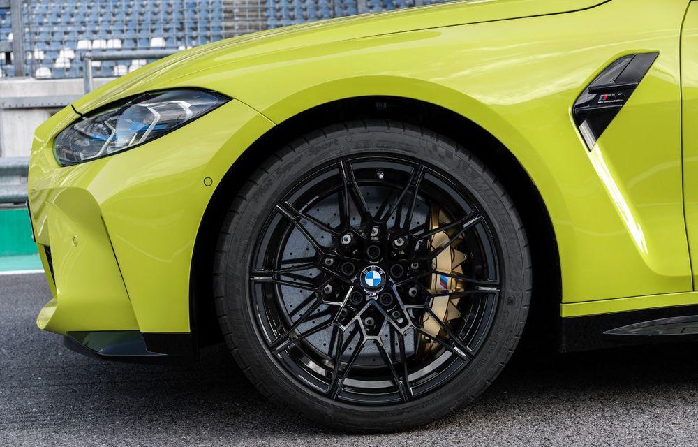 BMW a prezentat noile M3 și M4 Coupe: versiune de bază cu 480 CP și cutie manuală, și variantă Competition cu 510 CP și tracțiune integrală - Poza 83
