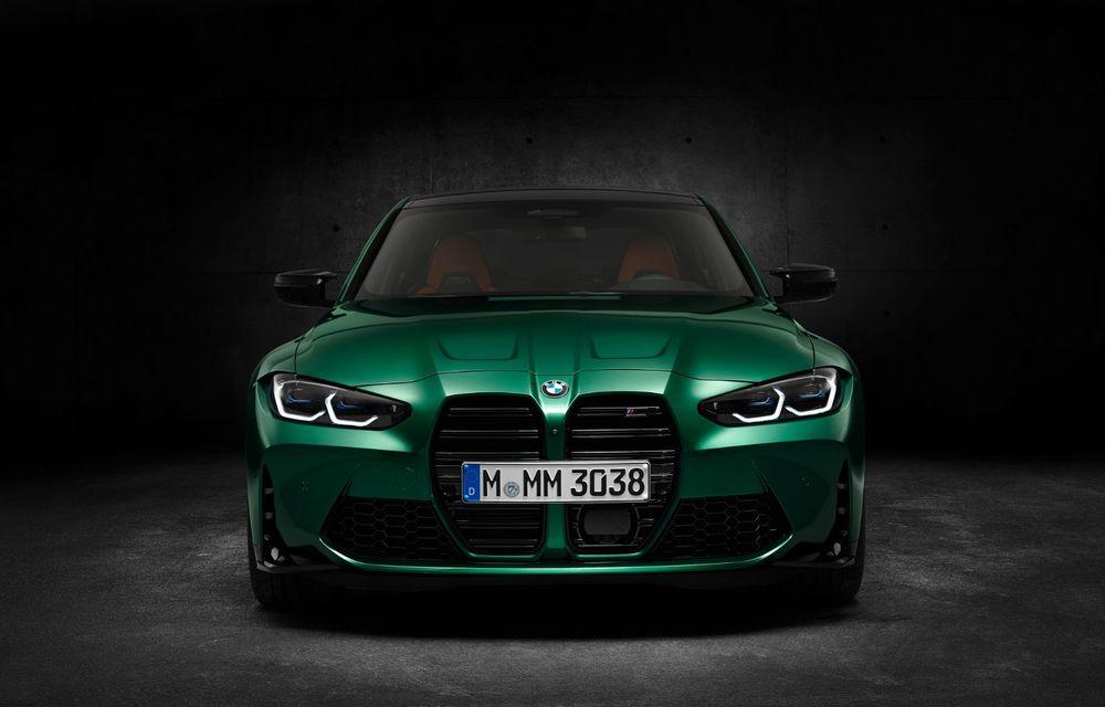 BMW a prezentat noile M3 și M4 Coupe: versiune de bază cu 480 CP și cutie manuală, și variantă Competition cu 510 CP și tracțiune integrală - Poza 173