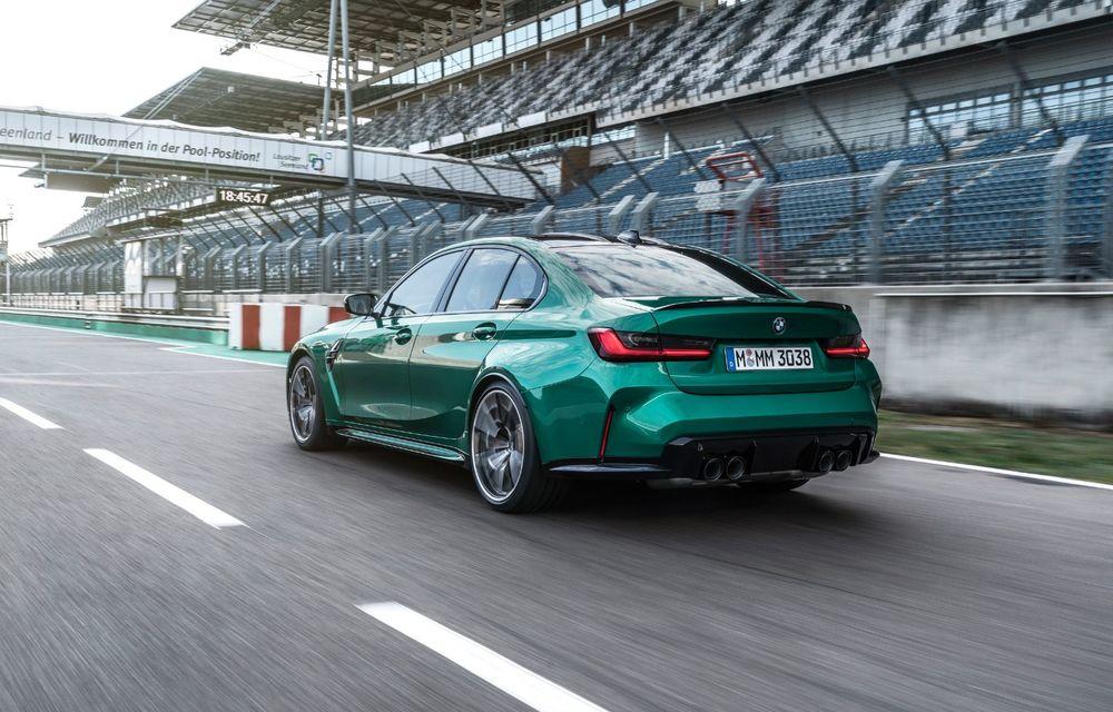 BMW a prezentat noile M3 și M4 Coupe: versiune de bază cu 480 CP și cutie manuală, și variantă Competition cu 510 CP și tracțiune integrală - Poza 127