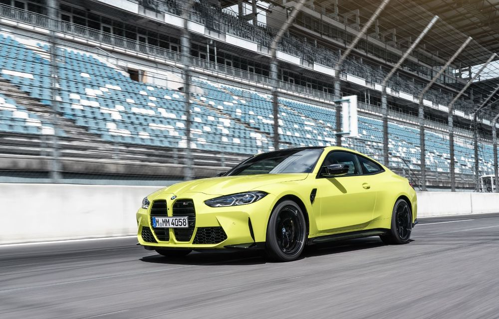 BMW a prezentat noile M3 și M4 Coupe: versiune de bază cu 480 CP și cutie manuală, și variantă Competition cu 510 CP și tracțiune integrală - Poza 55