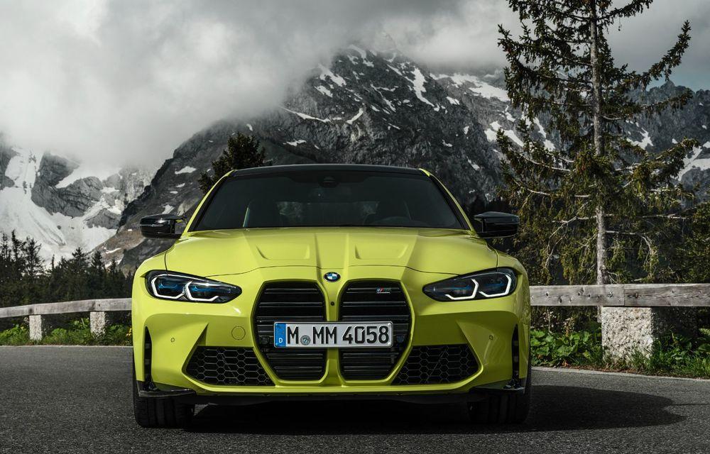 BMW a prezentat noile M3 și M4 Coupe: versiune de bază cu 480 CP și cutie manuală, și variantă Competition cu 510 CP și tracțiune integrală - Poza 40