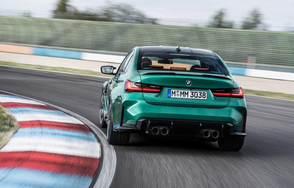BMW a prezentat noile M3 și M4 Coupe: versiune de bază cu 480 CP și cutie manuală, și variantă Competition cu 510 CP și tracțiune integrală - Poza 123