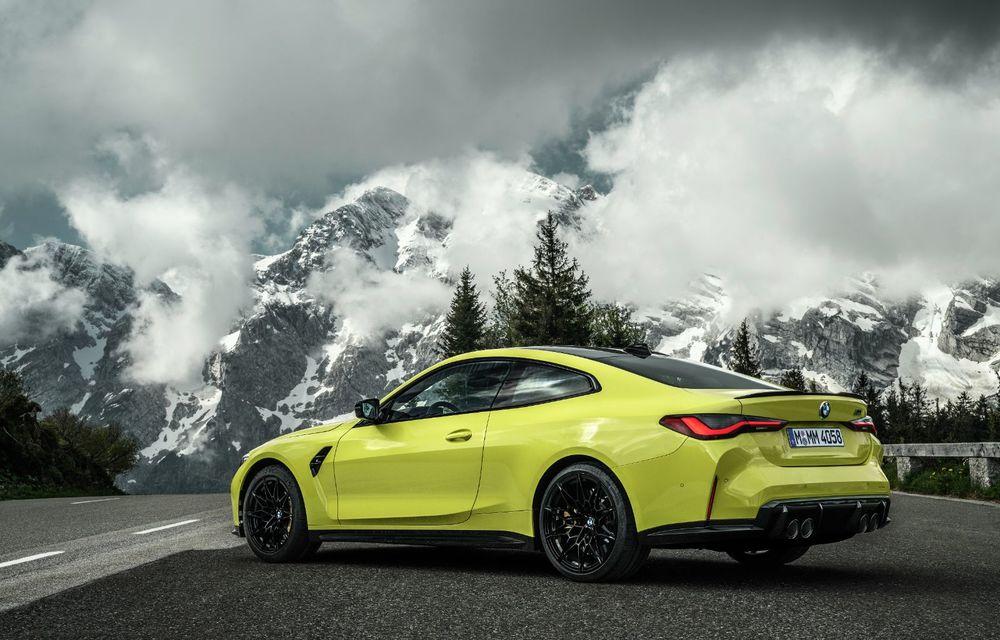 BMW a prezentat noile M3 și M4 Coupe: versiune de bază cu 480 CP și cutie manuală, și variantă Competition cu 510 CP și tracțiune integrală - Poza 41