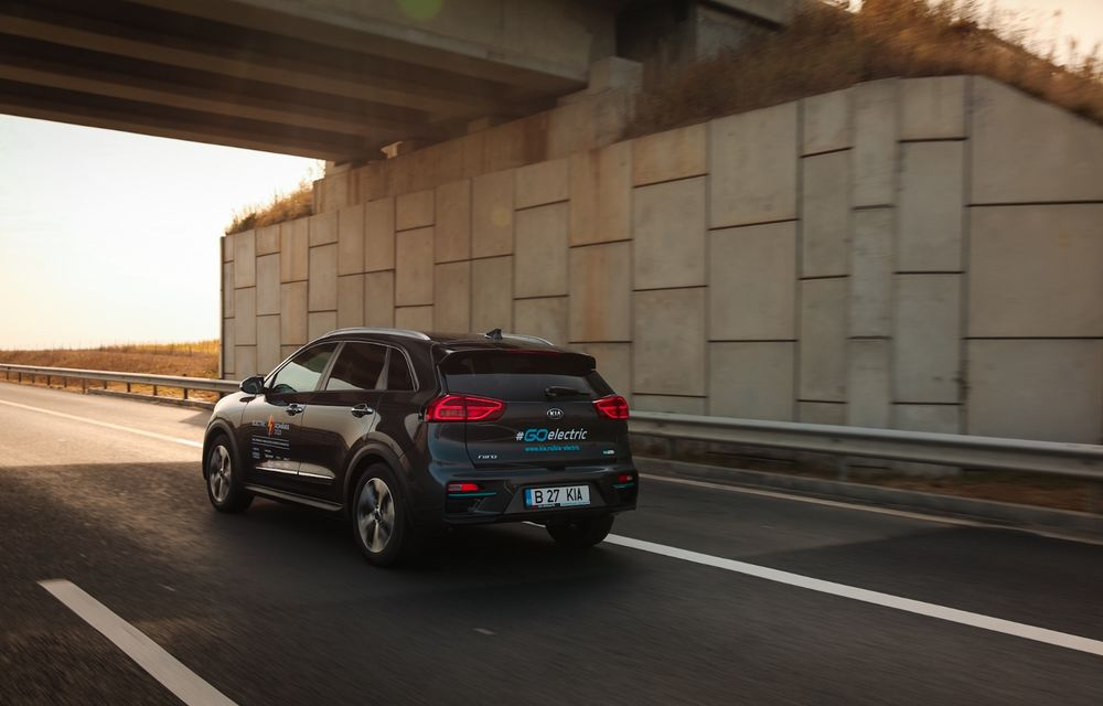 RAPORT FINAL: Kia e-Niro în #ElectricRomânia 2020: încărcare, consum, autonomie reală - Poza 20