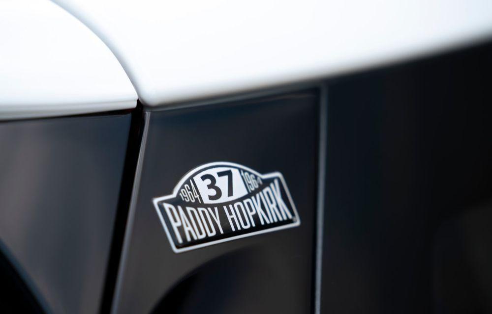 Hatchback-ul Mini este disponibil în versiunea specială Paddy Hopkirk Edition: varianta a fost dezvoltată în onoarea pilotului care a adus prima victorie Mini la Raliul Monte Carlo - Poza 57
