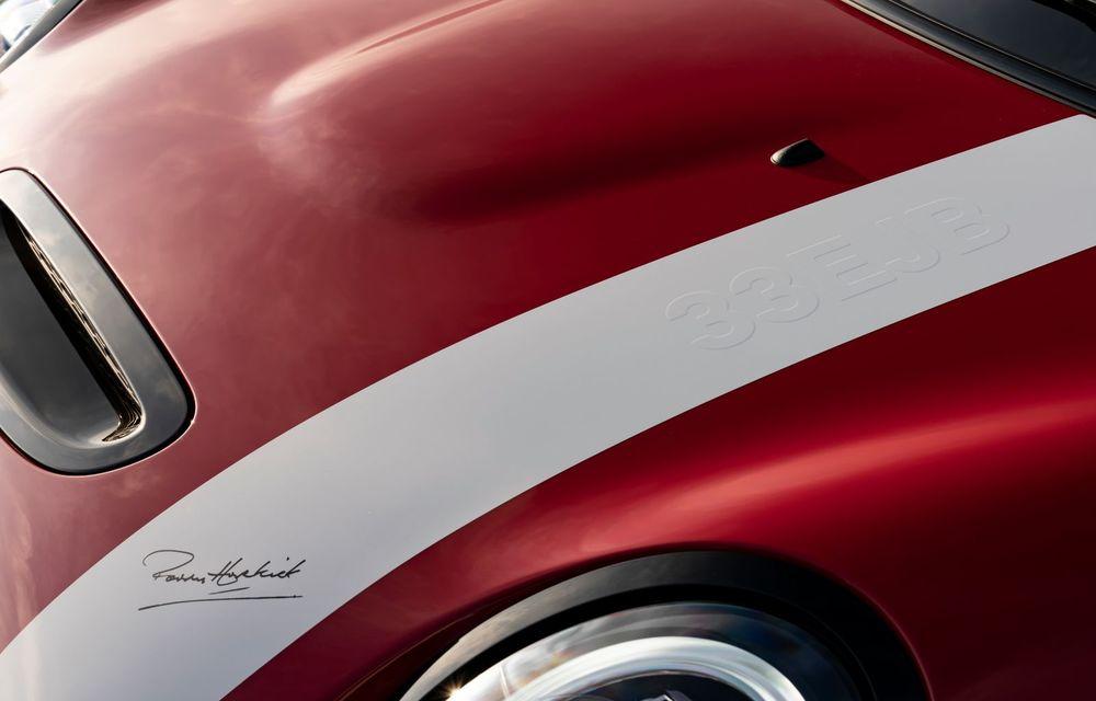 Hatchback-ul Mini este disponibil în versiunea specială Paddy Hopkirk Edition: varianta a fost dezvoltată în onoarea pilotului care a adus prima victorie Mini la Raliul Monte Carlo - Poza 47